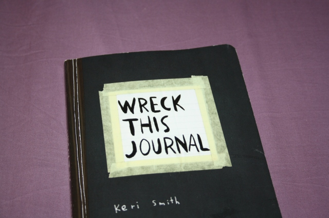 wreck this journal blog