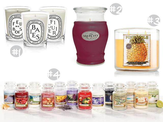 marques bougies parfumées