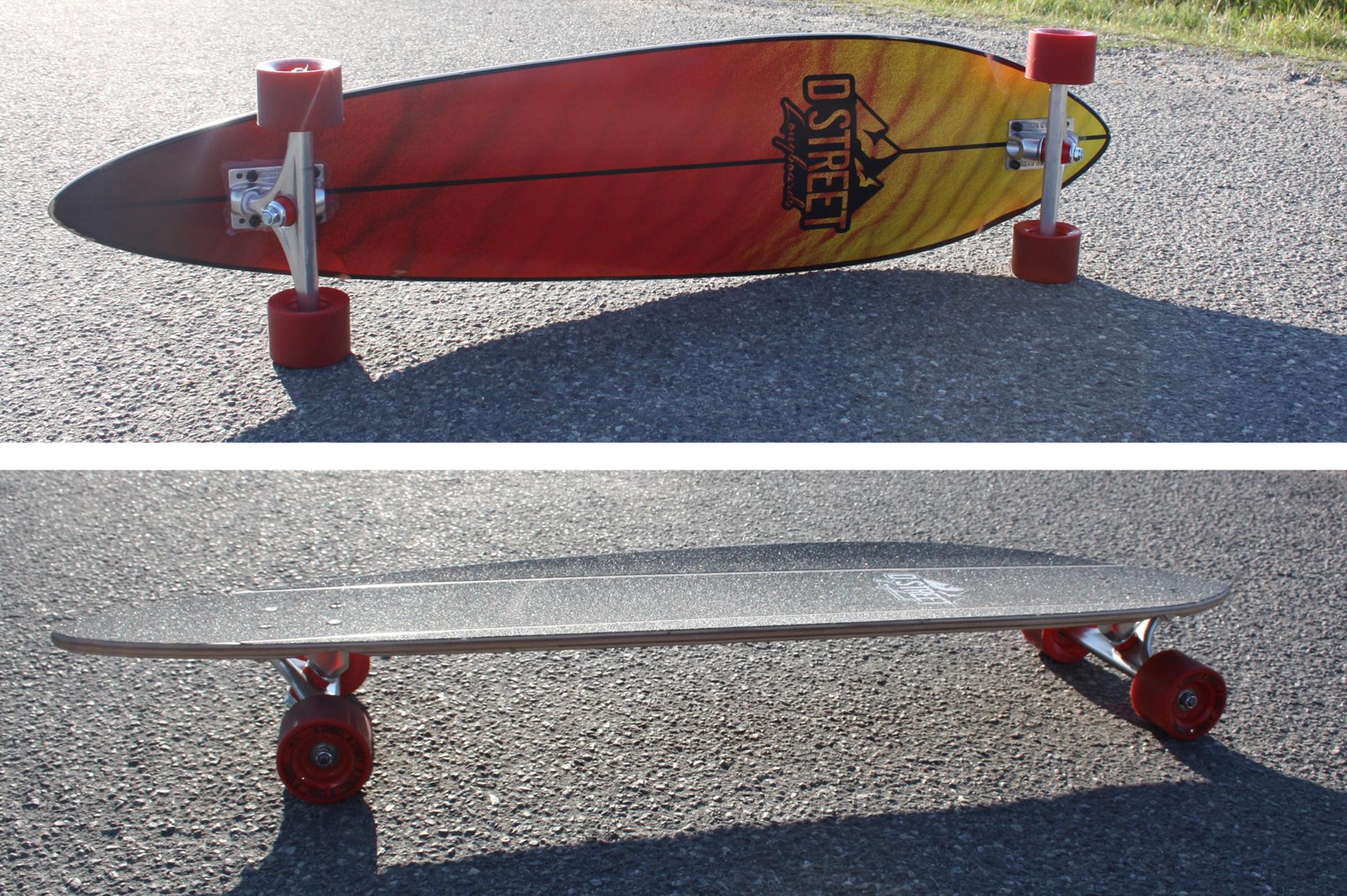 Dstreet longboard