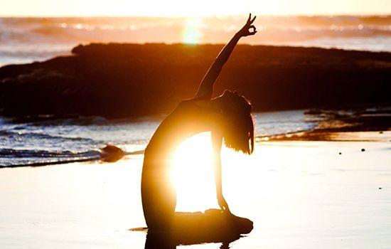 yoga girl aklanoa bleupaillette