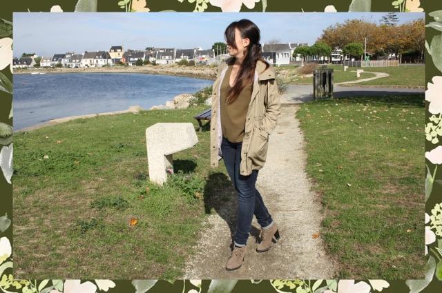bleupaillette kaki aklanoa blog mode lifestyle et sport en bretagne