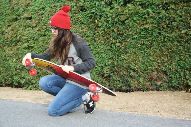 longboard look bleupaillette aklanoa