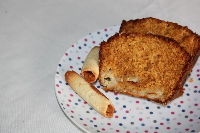 cake banane caramel beurre salé